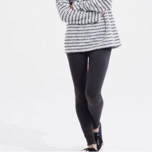 NWT Lou & Grey  Stretch Leggings XXS Charcoal Grey